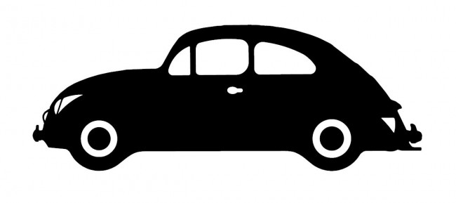 Car Silhouette Sticker